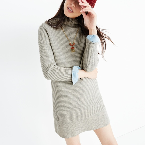 0b857d3b8d7 Madewell Dresses   Skirts - Madewell skyscraper sweater-dress